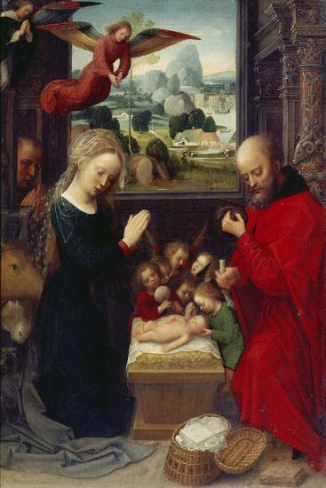 Nativity-Adriaen Isenbrant-Giclee Print
