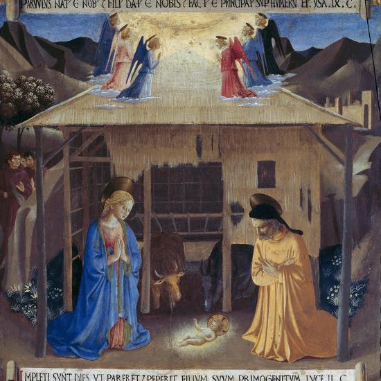 Nativity-Fra Angelico-Giclee Print