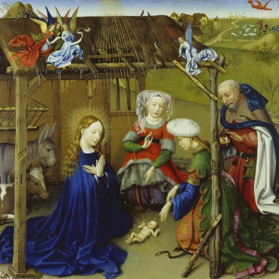 Nativity-Jacques Daret-Giclee Print