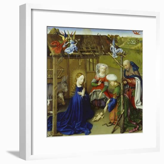 Nativity-Jacques Daret-Framed Giclee Print