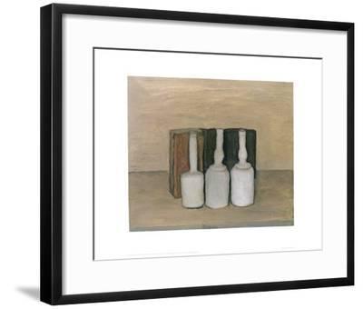 Natura Morta 1953-Giorgio Morandi-Framed Art Print