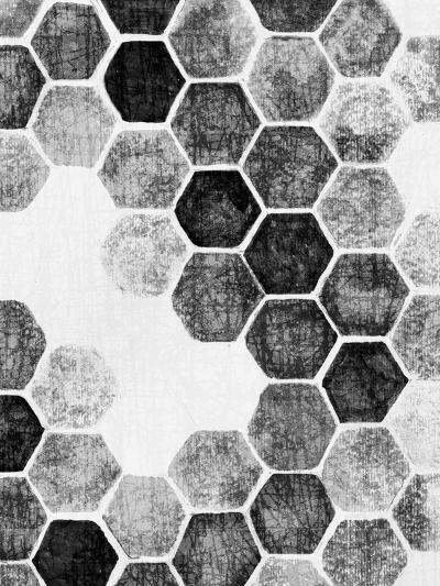 Natural Architecture 1 B&W-Edith Lentz-Art Print