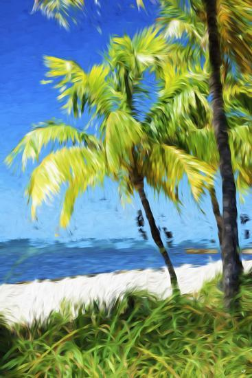 Natural Beach - In the Style of Oil Painting-Philippe Hugonnard-Giclee Print