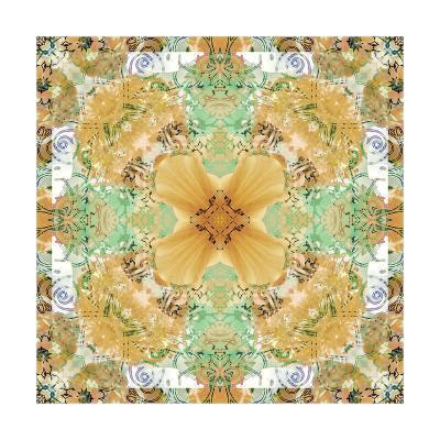 Natural Flower Mandala-Alaya Gadeh-Art Print