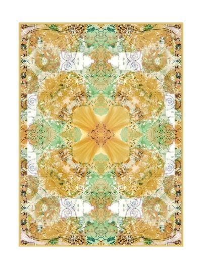 Natural Flower Ornament II-Alaya Gadeh-Art Print