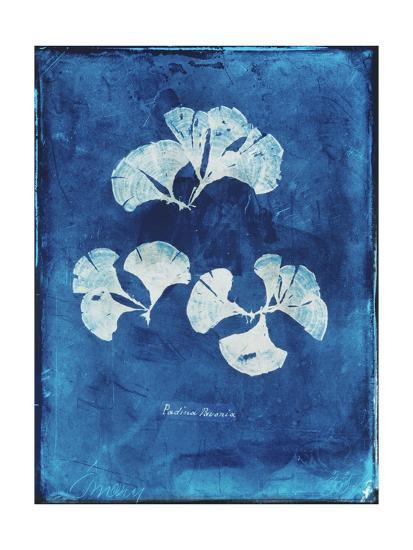 Natural Forms Blue 4-THE Studio-Premium Giclee Print