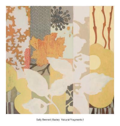 Natural Fragments I-Sally Bennett Baxley-Art Print