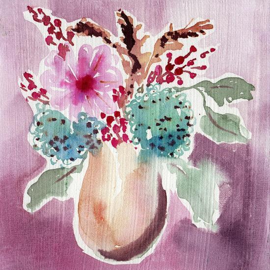 Natural Garden Bouquet-Esther Bley-Art Print