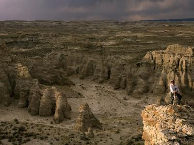 Natural Gas Drilling Threatens the Rock Formations of Adobe Town-Joel Sartore-Photographic Print