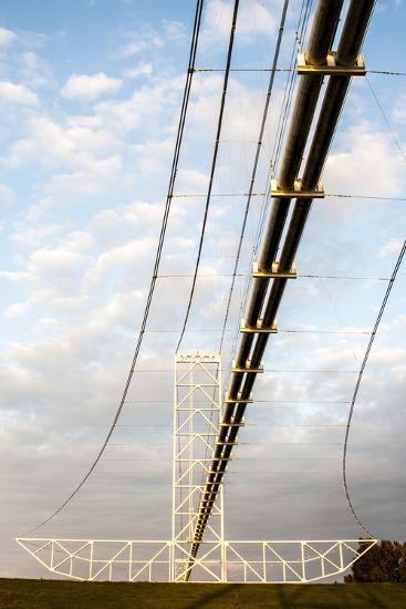 Natural Gas Pipeline, Melville, Atchafalaya Basin, Louisiana, USA-Alison Jones-Photographic Print