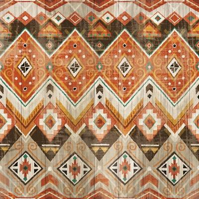 Natural History Lodge Southwest Pattern VIII-Wild Apple Portfolio-Art Print