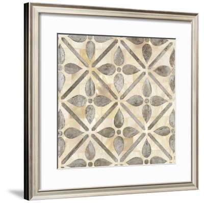 Natural Moroccan Tile 1-Hope Smith-Framed Giclee Print
