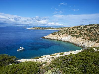 Natural Swimming Pool, Donoussa, Cyclades, Aegean, Greek Islands, Greece, Europe-Tuul-Photographic Print