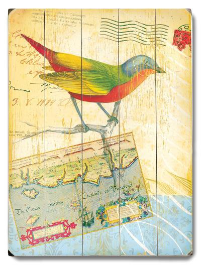 Natural Wonders-Bird--Wood Sign