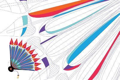 Nature Fan, Anturio-Bel?n Mena-Giclee Print