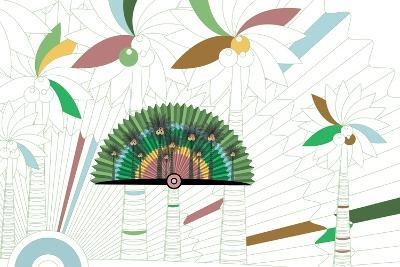 Nature Fan, Coconut-Bel?n Mena-Giclee Print