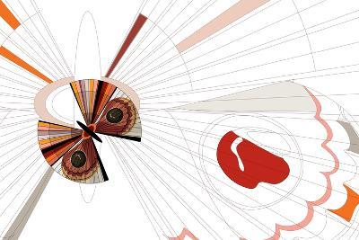 Nature Fan, Moth-Bel?n Mena-Giclee Print