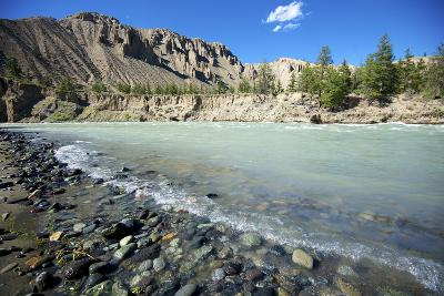 Nature Lanscape with Chilcotin River in Grasslands, Canada-Richard Wright-Photographic Print