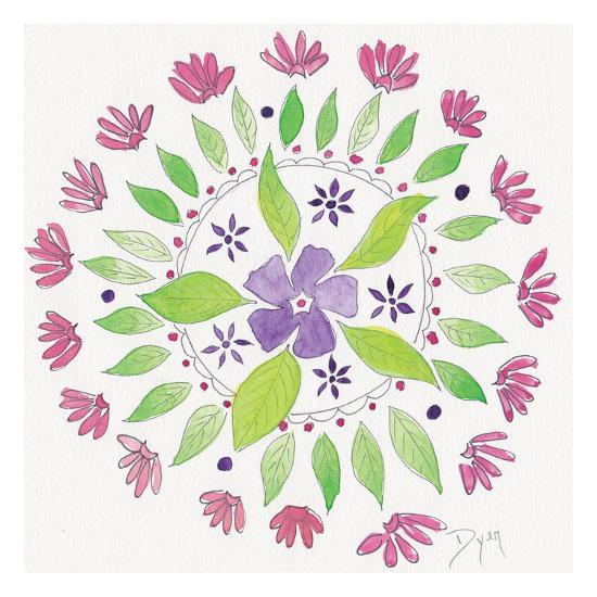Nature Mandala I-Beverly Dyer-Art Print