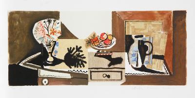 Nature Morte, 22-C-Pablo Picasso-Premium Edition