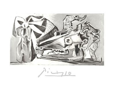Nature Morte a la Tete Chevre, Boutei-Pablo Picasso-Collectable Print