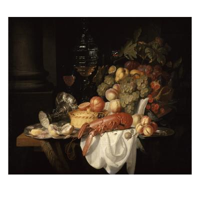 Nature morte au homard-Johannes Hannot-Giclee Print