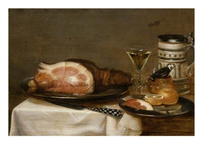 Nature morte au jambon-Jacob Fopsen Van Es-Giclee Print
