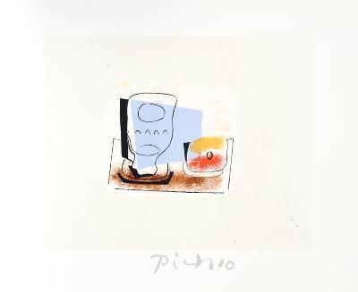Nature Morte au Verre-Pablo Picasso-Collectable Print