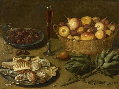 Nature morte aux fruits et aux artichauts--Giclee Print