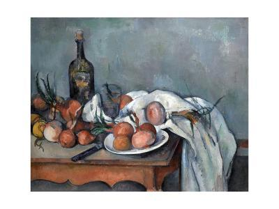 Nature Morte Aux Oignons (Still Life with Onions)-Paul C?zanne-Giclee Print