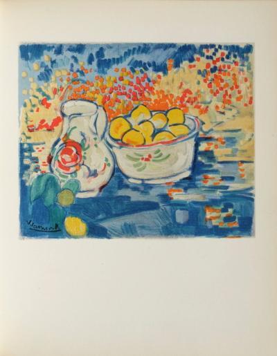 Nature Morte aux Pommes, 1906-Maurice De Vlaminck-Collectable Print
