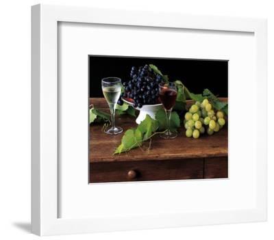 Nature Morte aux Raisins-Dominque Zintzmeyer-Framed Art Print