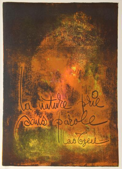 Nature Prays Without Words 3-Lebadang-Collectable Print