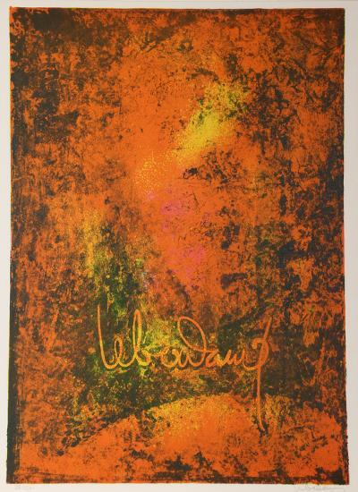 Nature Prays Without Words 5-Lebadang-Collectable Print