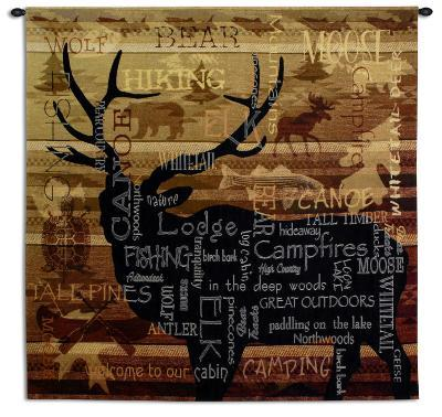 Nature's Calling--Wall Tapestry
