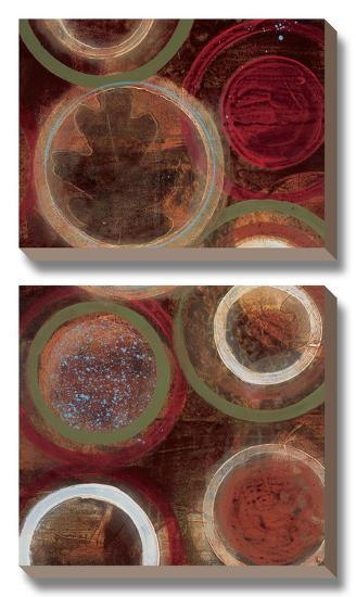 Nature's Spheres I-Leslie Bernsen-Canvas Art Set