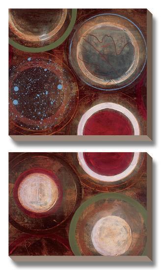 Nature's Spheres II-Leslie Bernsen-Canvas Art Set