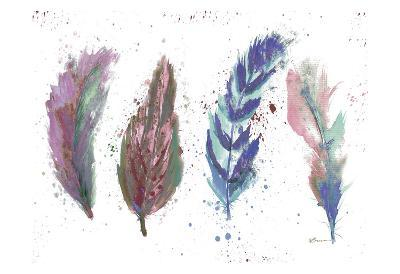 Natures Feathers-Victoria Brown-Art Print