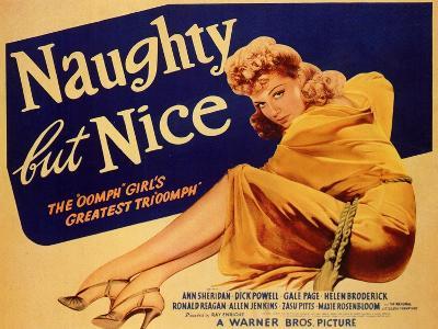Naughty but Nice, 1939--Art Print