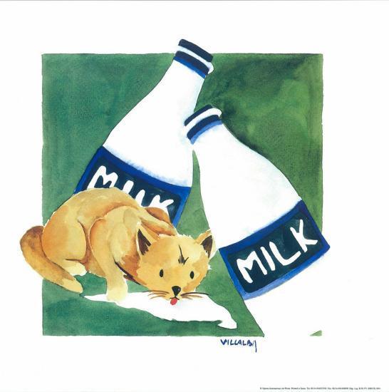 Naughty Cat V-Villalba-Art Print