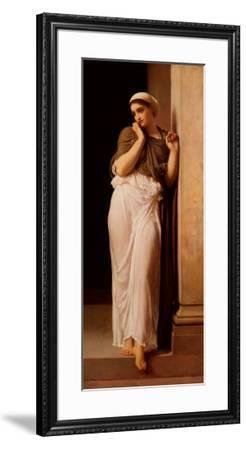 Nausicaa from James Joyce's-Frederick Leighton-Framed Art Print