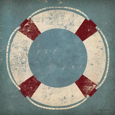 Nautical Buoy Blue-Ryan Fowler-Art Print