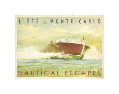 Nautical Escapes 2-Carlos Casamayor-Art Print