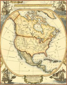 Nautical Map of North America