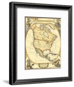 Nautical Map of North America