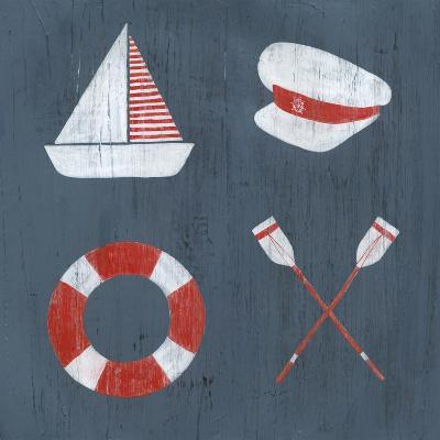 Nautical Quadrant II-Grace Popp-Art Print