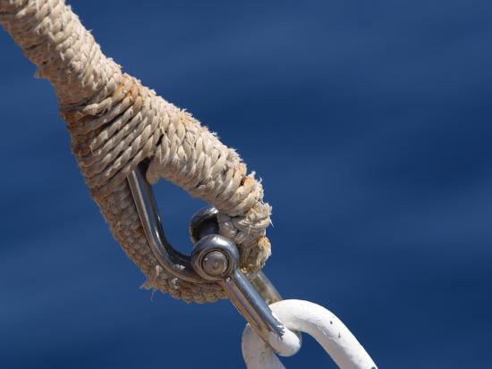 Nautical Ropes--Photographic Print
