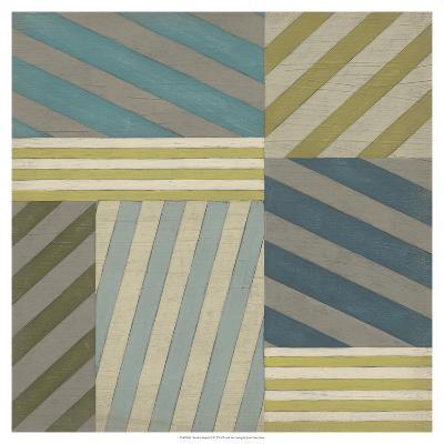 Nautical Stripes II-June Erica Vess-Art Print