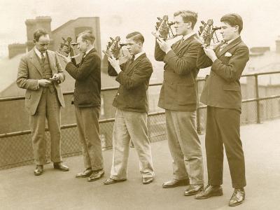 Nautical Students 1930s--Photographic Print