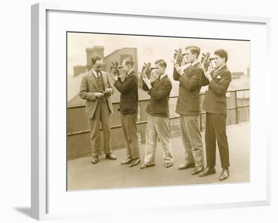 Nautical Students 1930s--Framed Photographic Print